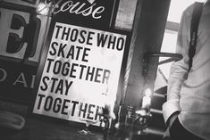 Those who skate together, stay together! #skateboarding