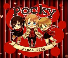 Pocky! I don't know who invented it, but that person deserves an award.