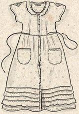 Kleid aus Öko-Baumwolle