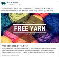 enter to win yarn for a year. follow this link http://win.argylesheep.com/c/94pasmtx