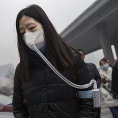 Y llegó el día en que el aire se vende en botella. Canadà vende aire fresco embotellado a China.