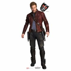 Guardians Of The Galaxy Star Lord Cardboard Cutout