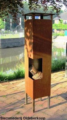 outdoor firepit - tuinhaard cortenstaal