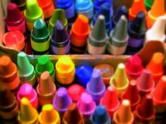 I have no idea how many times we bought me a new box of 80 some crayons when I was a kid because they were advertising a new color set, or, you know, if they threw some new words and colors on the box.