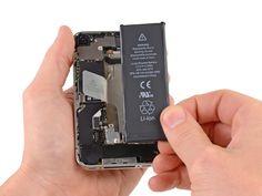 Verwijder de batterij.