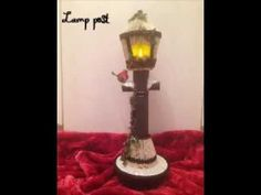lamp post Book art by Debbie Raybould 2016 - YouTube