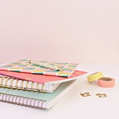 SHOP: NOTEBOOK CRUSH Things To Think About, Things To Come, Mini Cactus, Mish Mash, Pastel Colors, Crushes, Notebook, Paper Crafts, Homemade