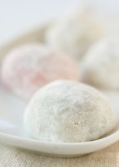Mochi - red bean. One of my favorites