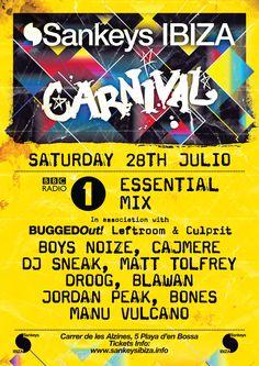 DJ Sneak - Live at Carnival Sankeys (Ibiza) - Essential Mix on Radio1 - 28-Jul-2012