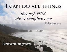Philippians 4:13 - I can do all things through Him who strengthens me. Scripture Of The Day, Bible Verse Art, Verse Of The Day, Bible Quotes, Book Of Philippians, Gods Guidance, Verses About Love, New American Standard Bible, Random Stuff