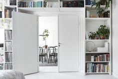 Susanna Vento is an interior stylist based in Helsinki, who serves several clients both in Finland and internationally. Bookcase Storage, Bookshelves, Tall Cabinet Storage, Shelving, Interior Architecture, Interior And Exterior, Interior Design, Interior Stylist, Lund