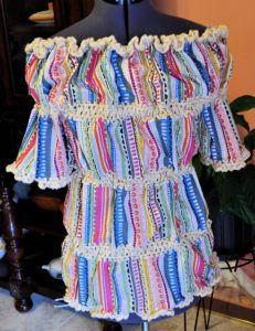 Free crochet pattern: Romantic Peasant Top – The Crochet Dude