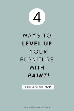How to paint your furniture - an easy DIY step by step guide for anyone! — West of 100 Interiors Outside Storage Units, Storage For Rent, Assisted Living Homes, Personal Storage, Diy Step By Step, Heart Diy, Pinterest For Business, Stressed Out, Step Guide