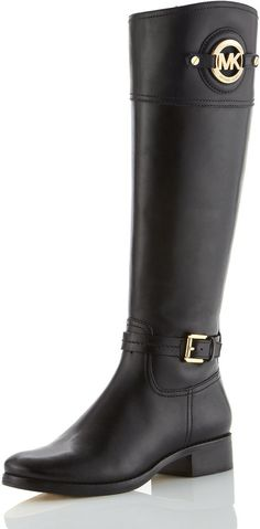 Michael Kors Two-Tone Riding Boots from Neiman Marcus ----> Christmas Wish! Michael Kors Boots, Cheap Michael Kors, Michael Kors Outlet, Mk Boots, Shoe Boots, Shoe Bag, Shoes Heels, Mk Handbags, Handbags Michael Kors