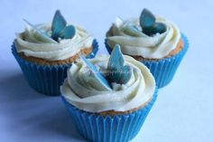 Blue butterfly cupcakes from Cupcake Yourself | Photo 5