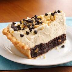 Brownie Peanut Butter Pie Recipe!