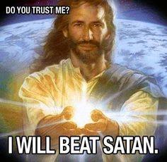 #Jesus #God Trust Him to fight your battles.