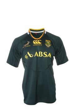 Canterbury Official 2012 Springbok Replica Jersey ... personalise your own!