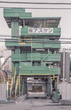 Tumblr: janvranovsky: Industrial landscapes Adachi Tokyo | Jan Vranovsky 2015