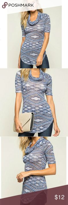 Crew neck sweater Stunning crew neck sweater/tunic. Brand New and fast shipping! Sweaters Crew & Scoop Necks