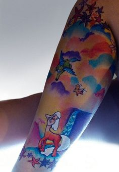 Fantasia sleeve. I'm in love with this!