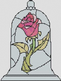 Beauty and the Beast rose pattern (not a direct link).