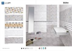 CD-604 - Millennium Tiles 300x900mm (12x36) Digital #Ceramic Glossy #WallTiles Series - CD-604-2007 HL  - CD-604-2002 HL  - CD-604-2002 HL  - CD-604-2001 LT-B  - CD-604-2001 DK-B  Award winning, ISO & CE certified, Tiles Manufacturer, large production capacities, wide wall & floor tiles range, excellent B2B Prices. Direct #Tiles import from our production lines in India for Distributors/Retailers in Australia, Europe & North America. Prices in US $/m2 in 20' containers on wooden palettes.