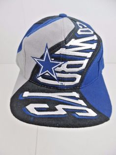 3d3b2526796 Ball Cap  NFL Dallas Cowboys ~ Adjustable ~ Blue   Gray