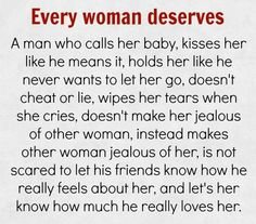 Every woman deserves
