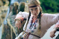 """Costume Eastern Slavs: Krivichi, 11 се. К.В.И.Р. """"Белый Барс"""""""