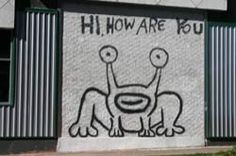 Building murals and texas on pinterest for Daniel johnston mural austin