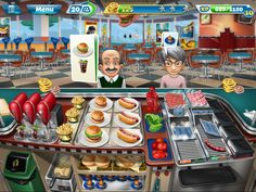 Cooking Fever Fast Food Court