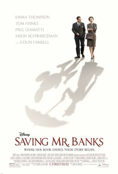 "Headline: ""Poster: ""Saving Mr. Banks"" (Thursday, July 25, 2013) Image credit: Disney ♛ Once Upon A Blog... fairy tale news ♛"