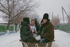Cu steaua de Crăciun în satul Hârtopul Mare