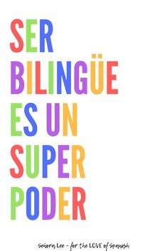 The ability to express yourself in more than one language is a gift AND a superpower! Promote pride in being bilingual with two posters in Spanish and English. These bilingual posters are perfect decor for your Spanish, ELL or dual language classroom. Dual Language Classroom, Bilingual Classroom, Bilingual Education, Free Education, Spanish Lesson Plans, Spanish Lessons, Learn Spanish, Learn French, Spanish 1