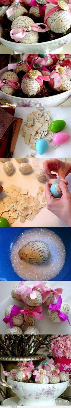 Gazetowe jaja