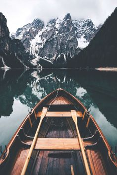 Ready to paddle? by Nature Landscape Travel Italy Sunrise Lake Boat Mirror Outdoors Explore Dolomites Folk Landscape Photography, Nature Photography, Travel Photography, Iphone Photography, Scenary Photography, Landscape Pics, Photography Timeline, Photography Hacks, Dream Photography