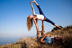 Love couples yoga! ;  )