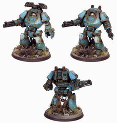 Alpha Legion Contemptor Dreadnaught. - Marc Raley Miniatures