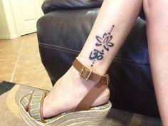 ohm | lotus flower | tattoo | LW