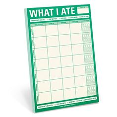 Knock Knock What I Ate Note Pad by Knock Knock http://www.amazon.com/dp/1601065566/ref=cm_sw_r_pi_dp_aKeIwb0HTABW5