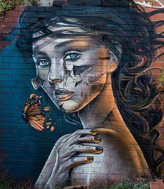 New Street Art by ArtByDestroy
