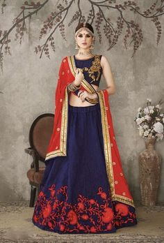 Check out the latest range of Designer Lehengas for Girls we have to offer. Browse through our trendy range of collection and pick according to your requirements.