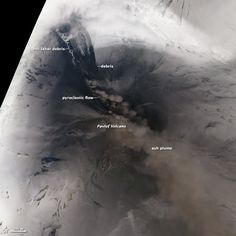 A Scene of Ice and Fire: Pavlof Volcano