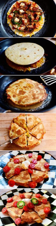FooF Drink: How To Chicken Quesadillas