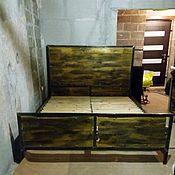 Для дома и интерьера ручной работы. Ярмарка Мастеров - ручная работа Кровать в стиле лофт.. Handmade.
