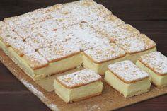 pl :: Napoleonka w 15 minut Fun Desserts, Delicious Desserts, Yummy Food, Kolaci I Torte, Banoffee Pie, Ice Cream Cookies, Cake Bars, Polish Recipes, Savoury Cake