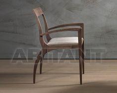 Стул с подлокотниками thelma коричневый Pacini & Cappellini 5466.1 , каталог элитных стульев: фото, заказ на ABITANT ABITANT Москва