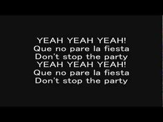 Pitbull - Don't Stop the Party     Kick Routine song? Good beat and not too fast