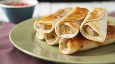 A simple and quick taquito recipe that's perfect for a game day appetizer!